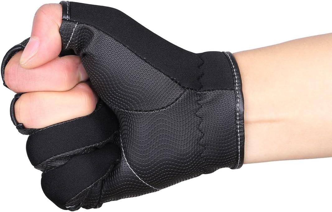 Sport 3/freie Finger zum Angeln SeaKnight SK03 Neopren-Handschuhe winddicht Outdoor Reiten rutschfest Angelhandschuhe Jagen Fahrradfahren