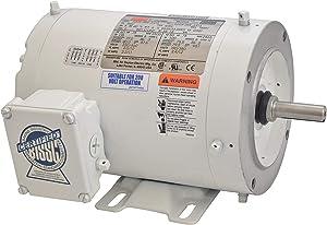 Washdown Motor, 3 Ph, TENV, 3/4 HP, 3450 RPM