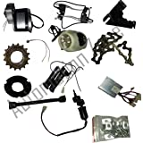 Automation Zone My1016Z2 24V 250W Motor Electric Bicycle Kit / Diy Ebicycle Kit (Silver)