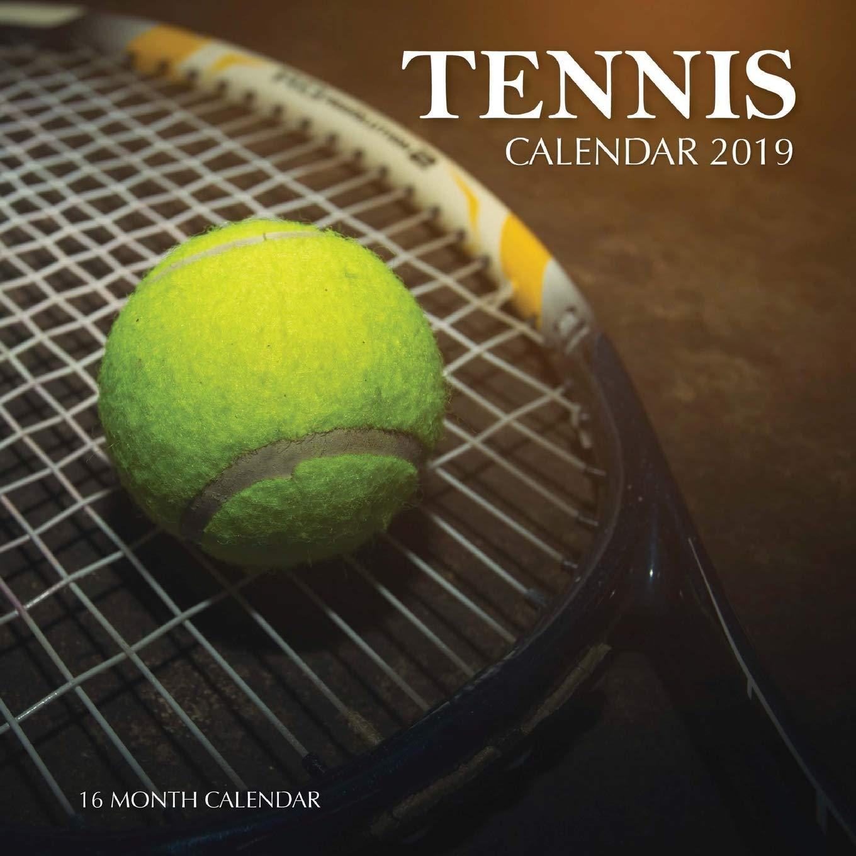 2019 Tennis Calendar Tennis Calendar 2019: 16 Month Calendar: Mason Landon