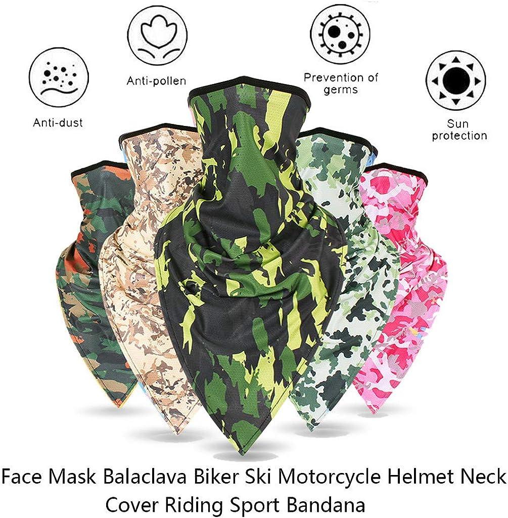 URIBAKY/_Kopft/ücher URIBAKY Bedruckte Multifunktionstuch Bandana Gesichtsmaske Atmungsaktiv Schlauchtuch Damen Halstuch Schutzmasken,Schlauchschal Staubschutz Mund-Tuch Motorrad Fahrrad Joggen Schal