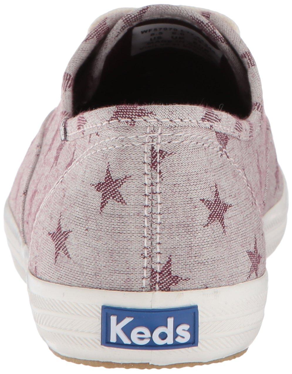 Keds Women's Champion 6.5 Star Chambray Sneaker B072WRP3X5 6.5 Champion B(M) US|Mahogany 7ddd3e
