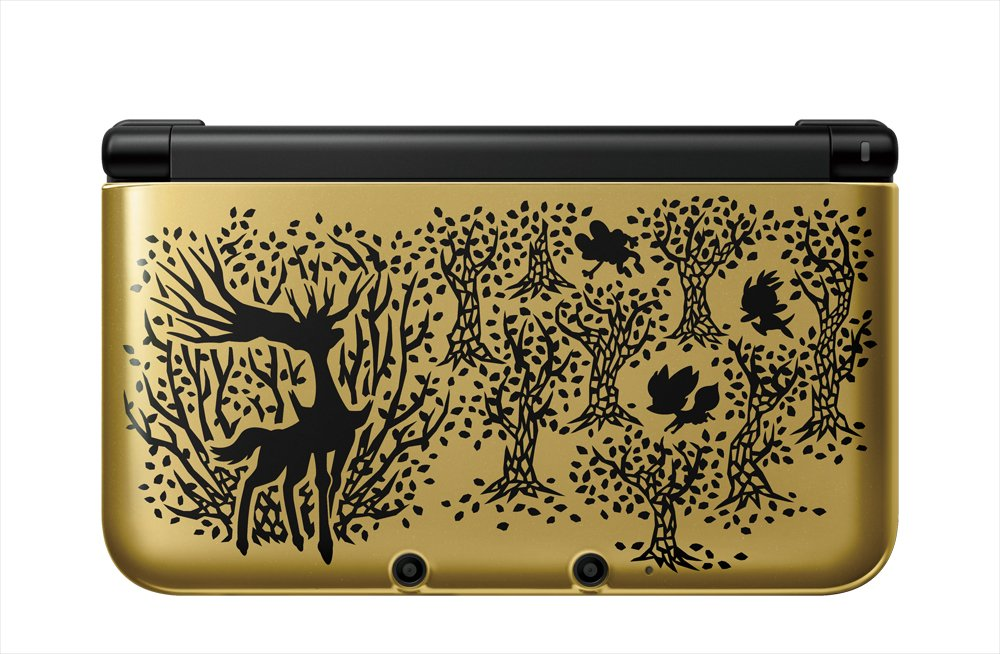 NINTENDO 3DS LL Pocket Monsters X pack Premium Gold(Limited Edition)(Japanese Region Games Only)