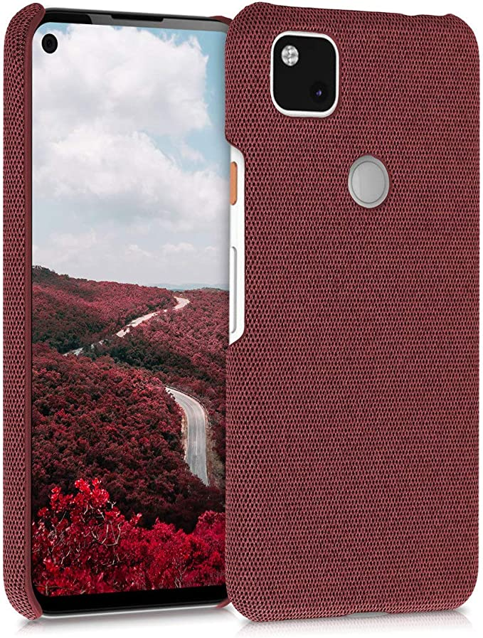 Kwmobile Case Compatible With Google Pixel 4a Fabric Elektronik