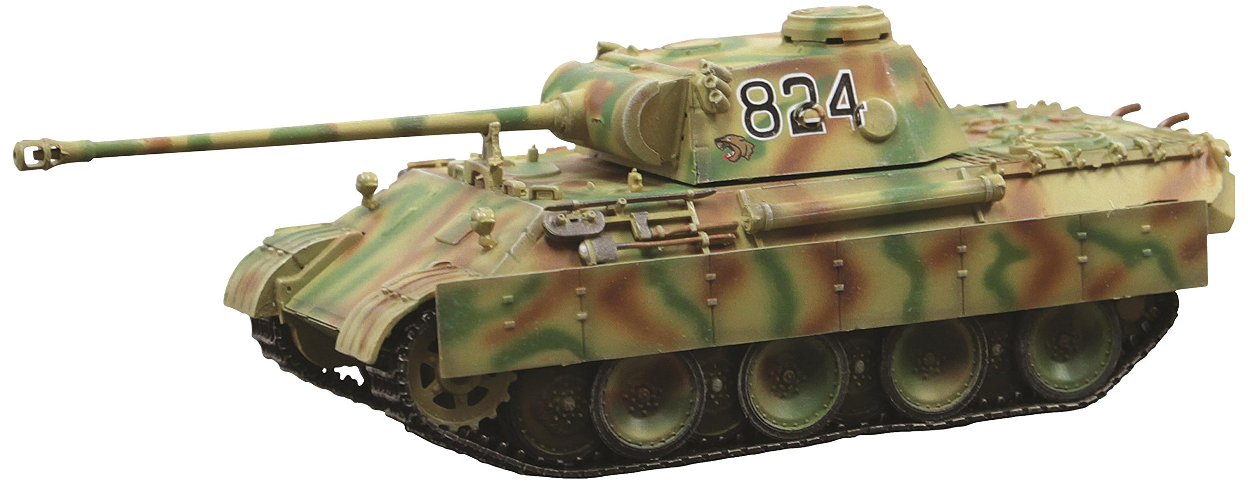 Dragon Models Panther Ausf.D Early Production 8/Pz.Abt.52, Pz.Rgt.39 Kursk 1943 Vehicle (1/72 Scale)