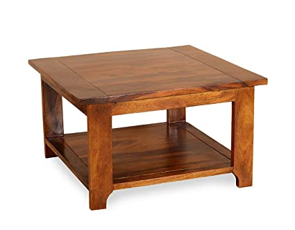 Unique Furniture Sheesham Wood Coffee Table For Living Room