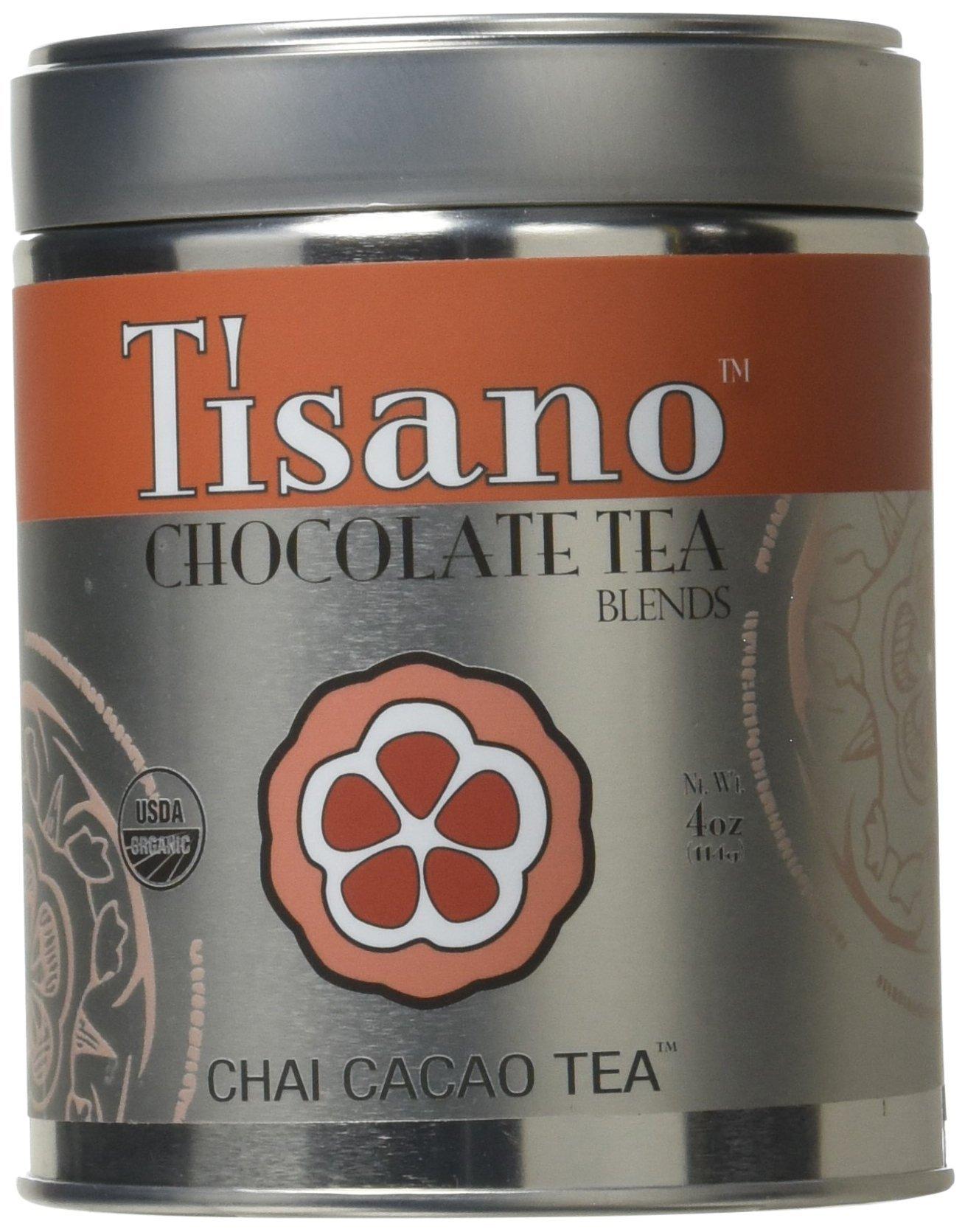 Tisano Organic Chai Spice Cacao Tea - Loose Leaf - 04oz