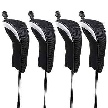 Amazon.com: Hipiwe - Juego de 4 fundas híbridas para cabezas ...