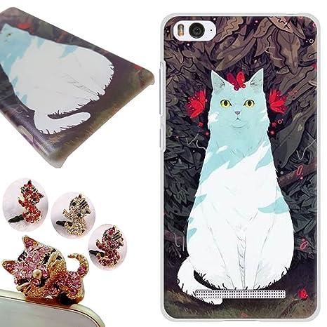 Xiaomi Mi 4i funda - Gallery88 Xiaomi Mi 4i Carcasa, (gatos nobles) Protectora de Plastica de Duro PC Funda Tapa Case Cover para Xiaomi Mi 4i / Xiaomi ...