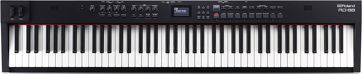 Roland RD-88 Professional Stage Piano, 88-key