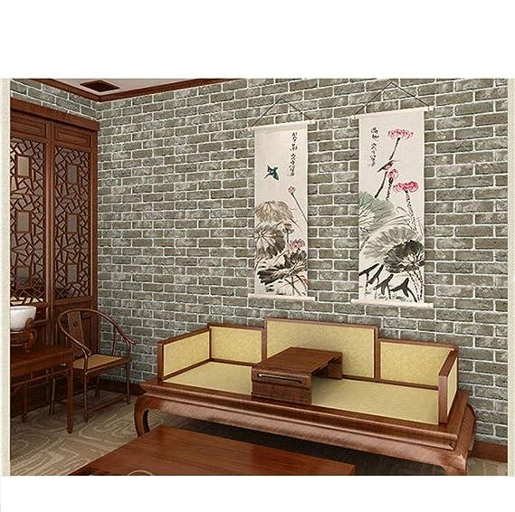 KAJHGP - Papel pintado de ladrillos, muros de ladrillos, salones ...