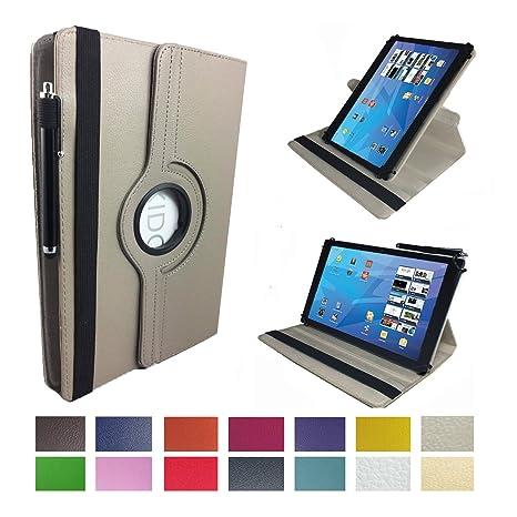 Case Cover für Lenovo Tab3 10 Plus TB3-X70F Tablet Schutzhülle Etui mit Touch Pen & Standfunktion - 10.1 Zoll Grau 360?