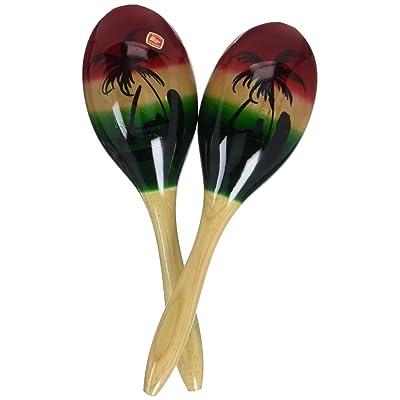 Westco Medium Wood Maracas Musical Instrument Toy: Toys & Games