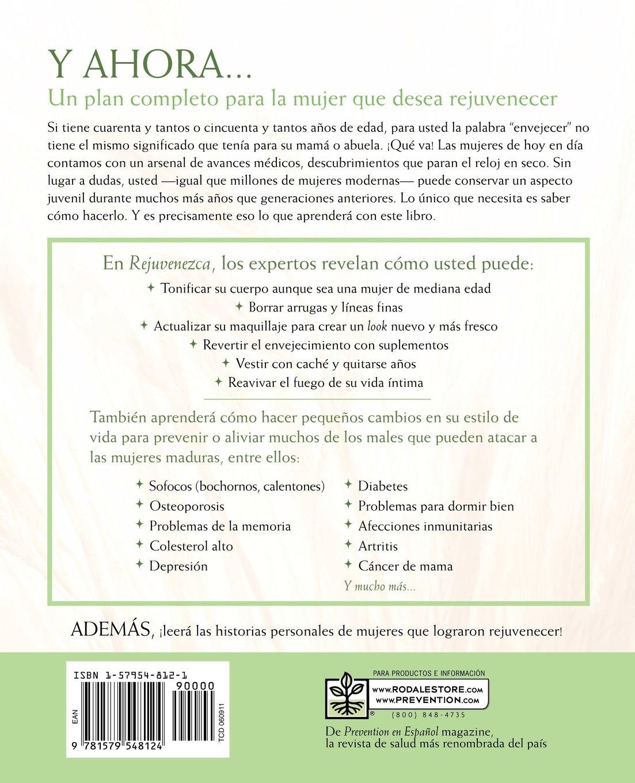Rejuvenezca: La Guía Máxima del Antienvejecimiento para la Mujer: Bridget Doherty, Julia VanTine R.D.: 9781579548124: Amazon.com: Books
