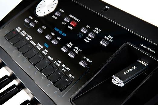 Roland BK-5 - Teclado de acompañamiento, color negro