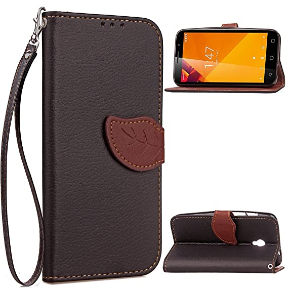 Vodafone Smart Turbo 7 Cell Phone Cases PU Leather Wallet Case Flip Kickstand Function Ultra Folio