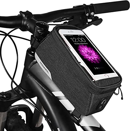 ROSWHEEL Cycling Bike Sports Bicycle Frame Pannier Front Tube Bag 8-color