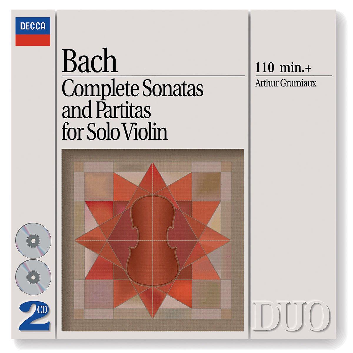 Bach: Complete Sonatas and Partitas for Solo Violin