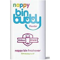 Nappy Bin Buddy - Ambientador en polvo, 225 g, 6 unidades
