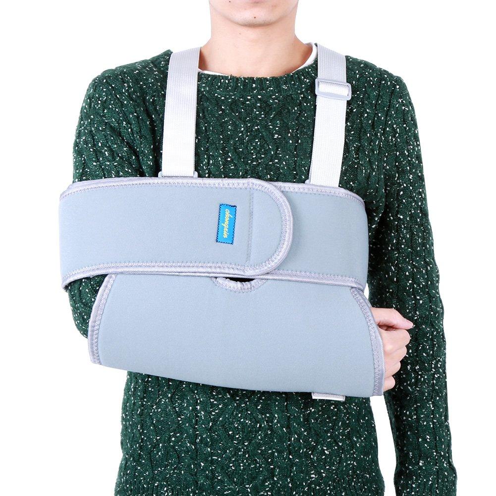 Cabestrillo para brazo para hombro con brazo con una mejor protección y  estabilidad en el codo que proporciona una inmovilización efectiva y cómoda  del ... 883a0f78c493