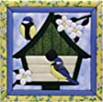 Quilt Magic 12-Inch by 12-Inch Happy Home Kit