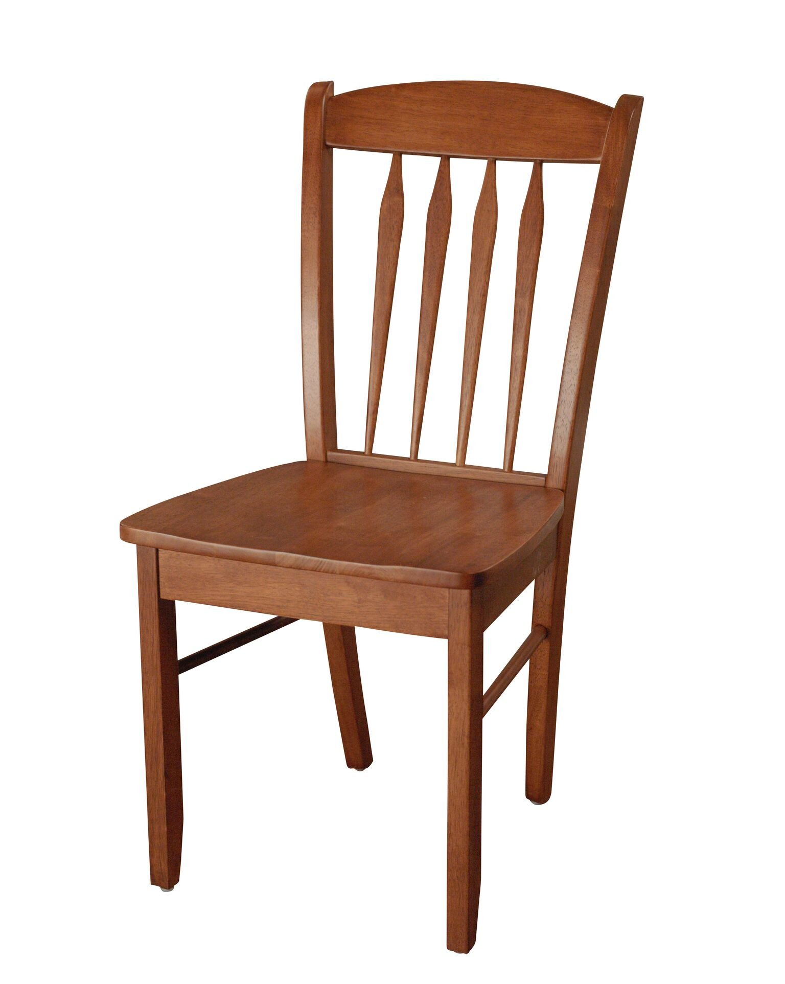 TMS Savannah Chair - Handsome desk or office chair Finished in cherry Constructed of sturdy rubberwood - kitchen-dining-room-furniture, kitchen-dining-room, kitchen-dining-room-chairs - 71F6mJJQ4BL -
