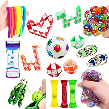 Autism /& ADHD Sensory Toys For Autism Fidget Sensory Toys Stress Relief Toys Fiddle Toys Anti-Anxiety Hand Toys For Kids And Adults With Anxiety Relief
