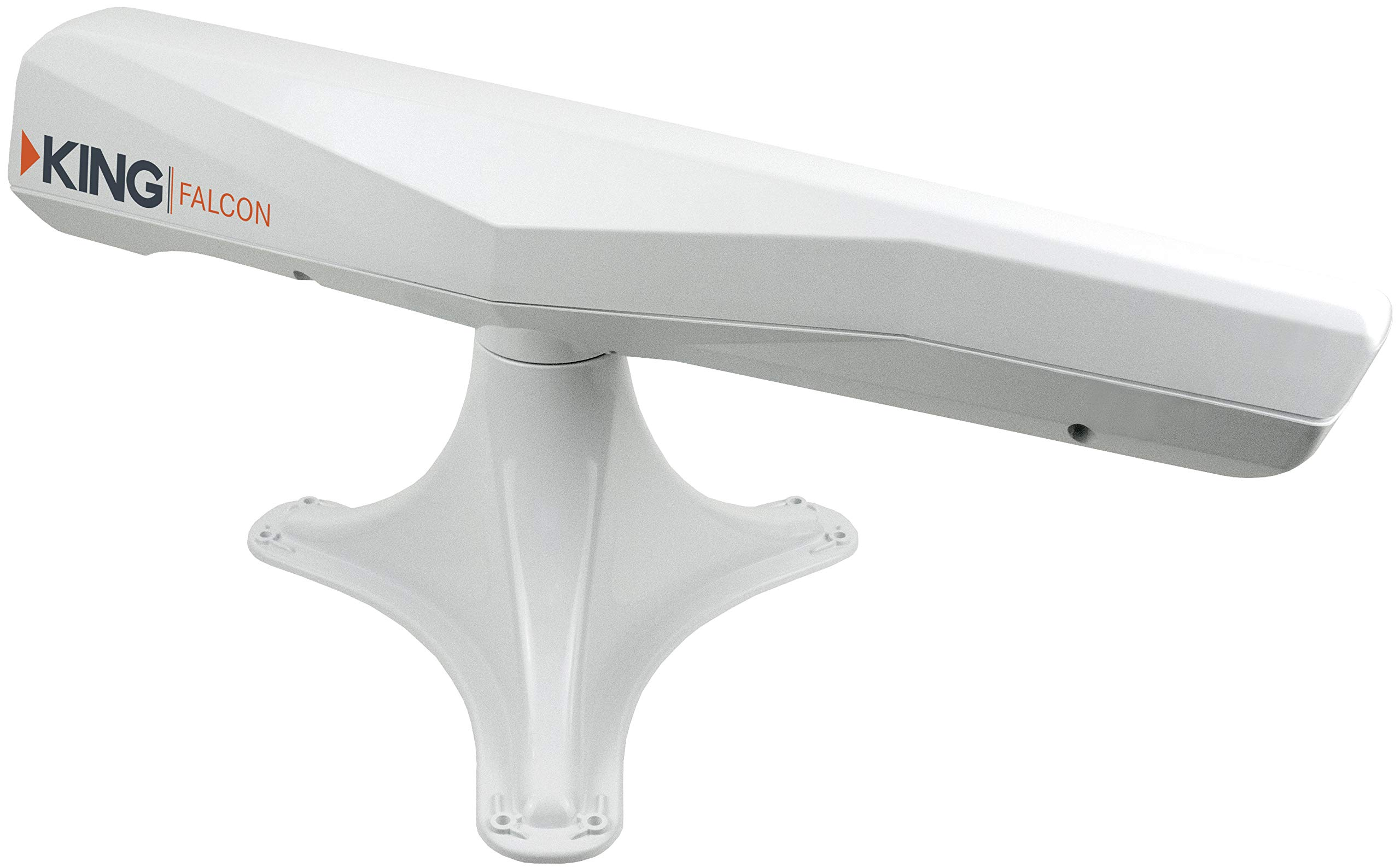KING KF1000 Falcon Automatic Directional WiFi Antenna with WiFiMax Router and Range Extender - White by KING (Image #1)