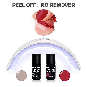 Se Retire En Semi Une Manucure VernisNudeamp; 2 Leduv Icone Off Permanent Étape Pas Peel Lampe Kit De Rouge Primer • Digitale c5RjL3Aq4