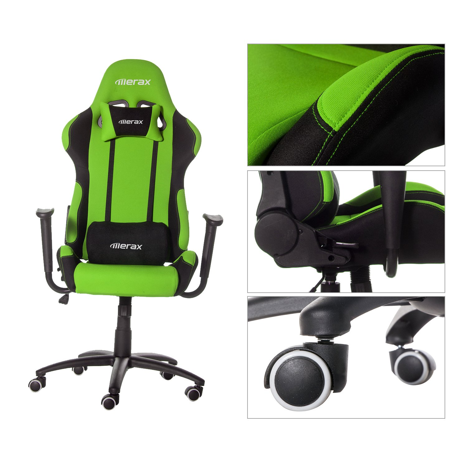 Amazon Merax Adjustable High Back Gaming Racing Style Chair