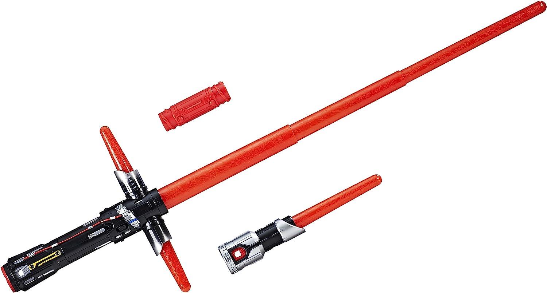 Star Wars 8 Sable electrónico Kylo REN, Multicolor (Hasbro C1577EU4)