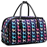 57c598ed3fc60 Ladies Women s Travel Holdall Trolley Luggage Bag With Wheels CABIN APPROVE  CW0036 CW0037 CW0038 CW0039 CW0040