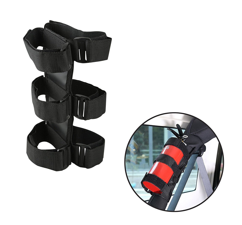 Beside/_Auto Verstellbare Roll Bar Feuerl/öscher Halterung