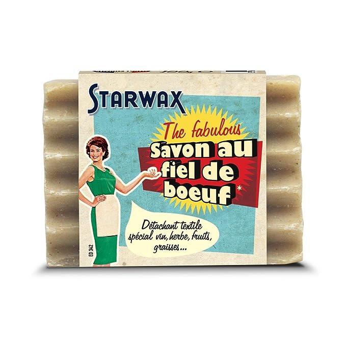 Starwax The Fabulous - Jabón natural quitamanchas de bilis de buey (100 gr): Amazon.es: Salud y cuidado personal