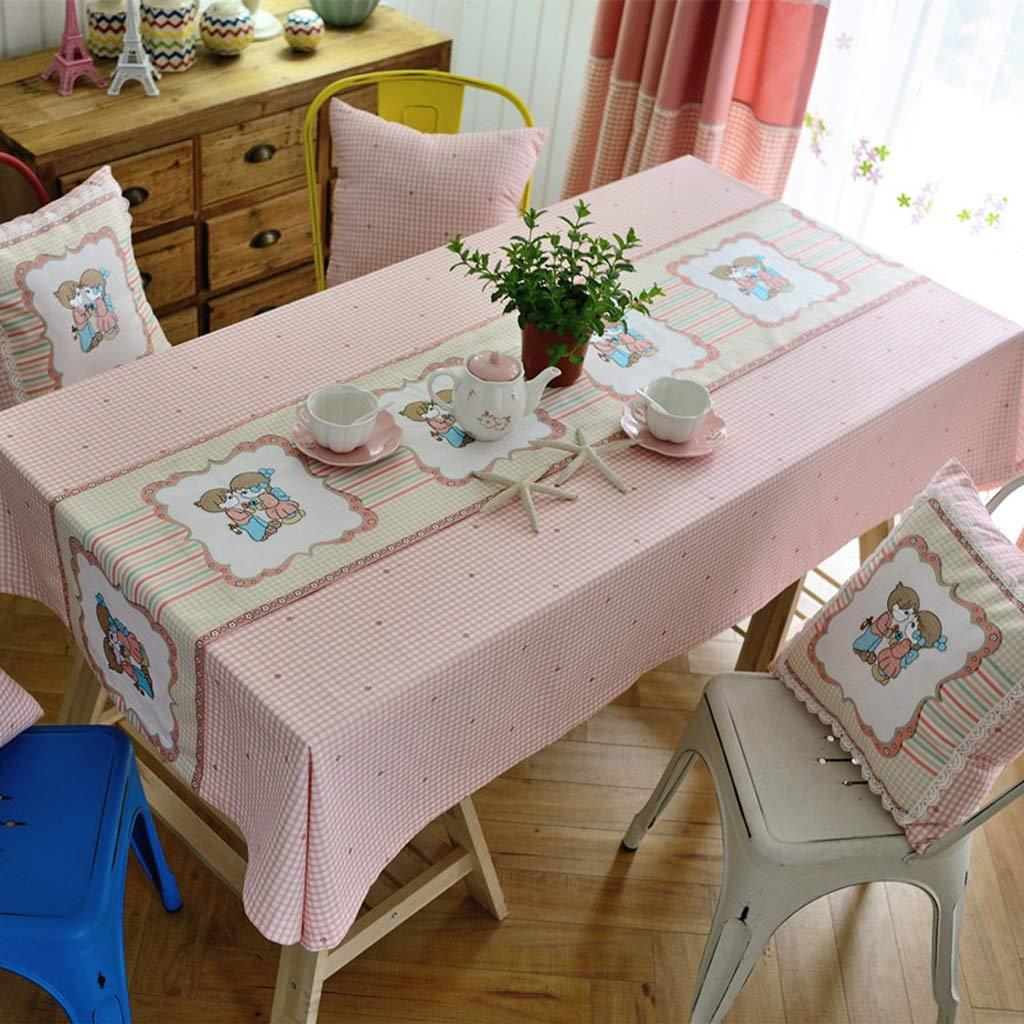 130cm×180cm LPFMM Mehrzweckmischgewebe aus Baumwolle und Leinen im rustikalen Stil Tischdecke Tisch Couchtisch Staub Tischtuch Abdeckung Handtuch Tischdecke (Größe   130cm×180cm)