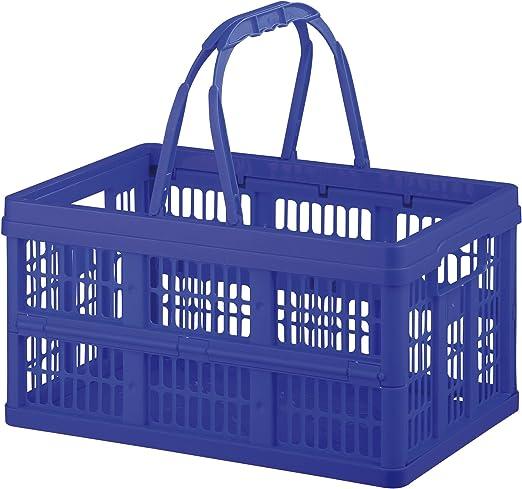 axentia 116853 Caja Plegable, Aprox. 16 L con Mangos, Caja para la ...