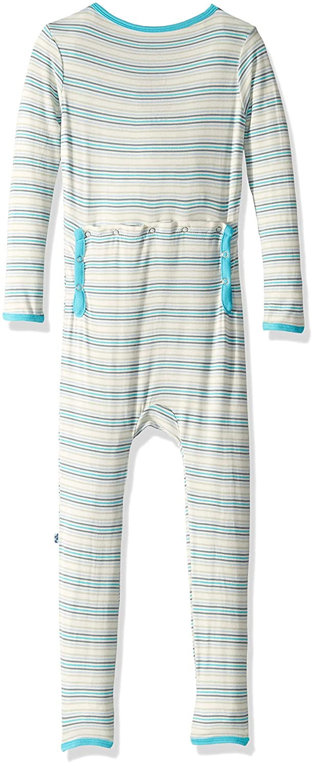 Kickee Pants Boys Print Fitted Coverall Prd-kpca213-bdest