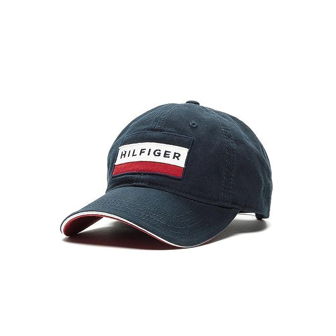 Tommy Hilfiger - Gorra de béisbol - para hombre Azul azul Talla única: Amazon.es: Ropa y accesorios