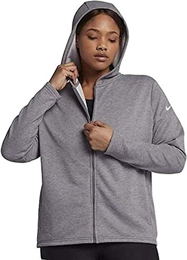 Amazon Com Nike Women S Plus Dri Fit Full Zip Training Hoodie 2x Grey Clothing A wide variety of dri fit women hoodies options are available to you, such as feature, fabric type, and supply type. nike women s plus dri fit full zip training hoodie