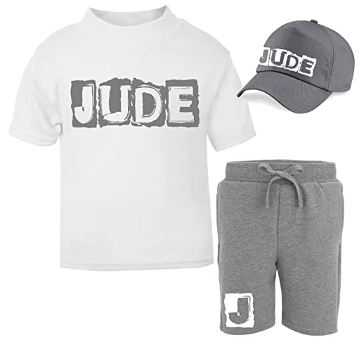 d13fde6c Personalised Name and Initial Children's Short Tracksuit and Cap Set Kids  Tracksuit Toddler Wear Personalised Toddler Personalised Kidswear Matching  Toddler ...