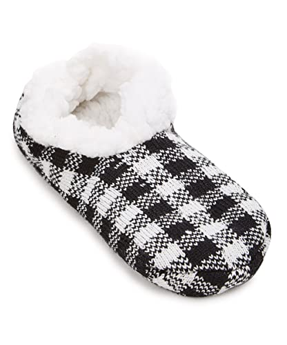ccdff5e32a34 Charles Albert Womens Cozy   Comfortable Womens Slipper Socks (Medium Large  - Fits Shoe
