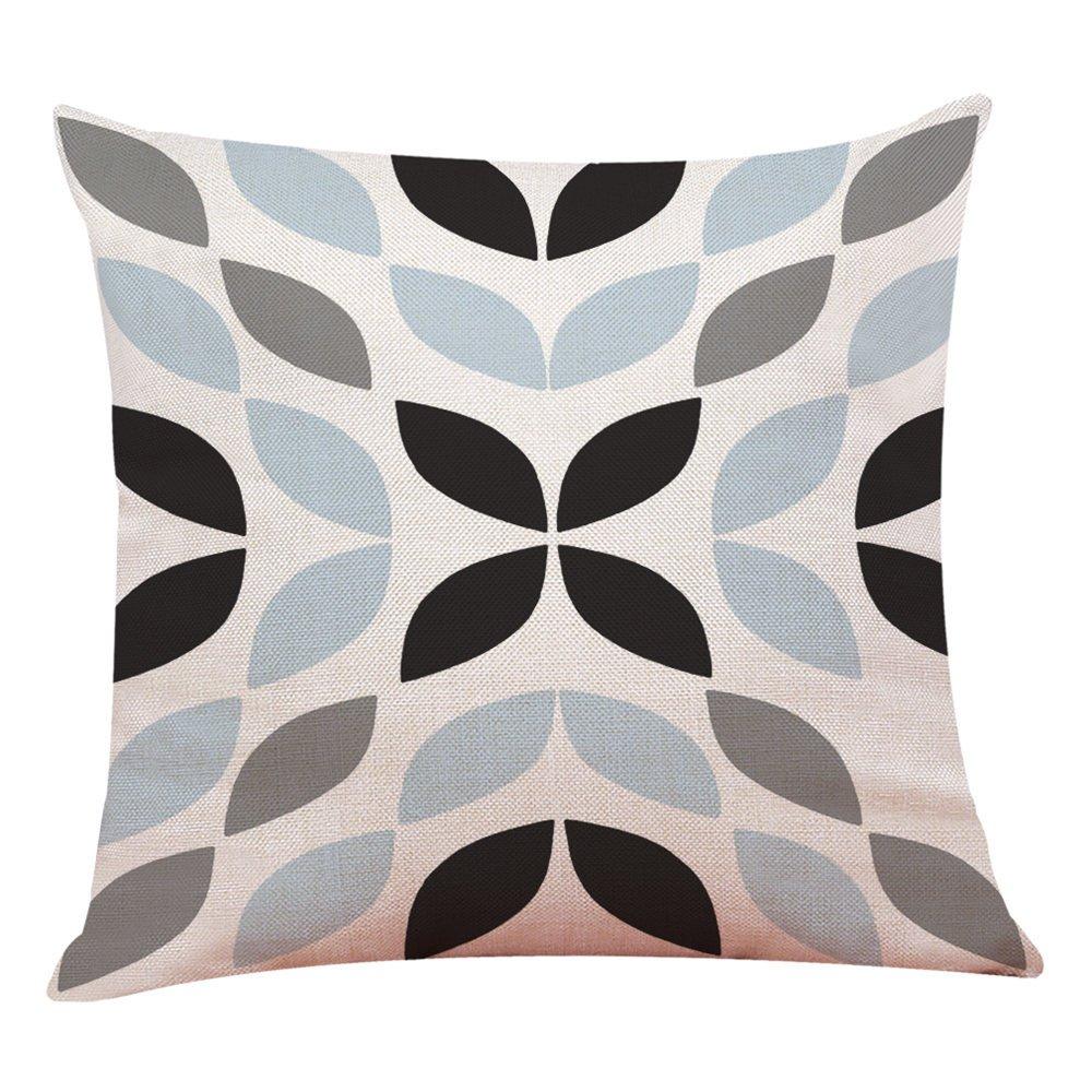 MURTIAL Home Decor Cushion Cover Simple Geometric Throw Pillowcase Pillow Covers