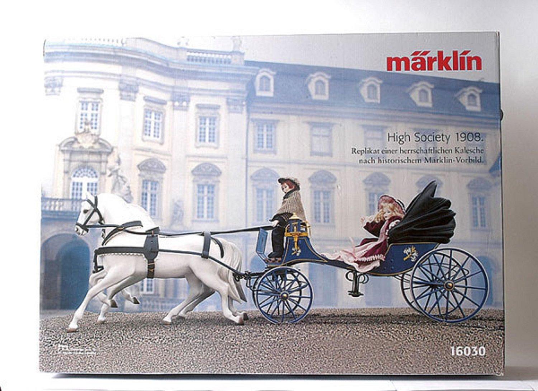 Märklin 16030 Kalesche mit Pferden und Puppen MHI