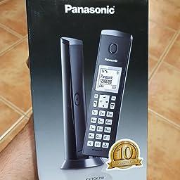 Panasonic KX-TGK212 - Teléfono fijo inalámbrico de diseño Dúo (LCD, identificador de llamadas, agenda de 50 números, bloqueo de llamada, modo ECO), Blanco,TGK21 Duo: Amazon.es: Electrónica