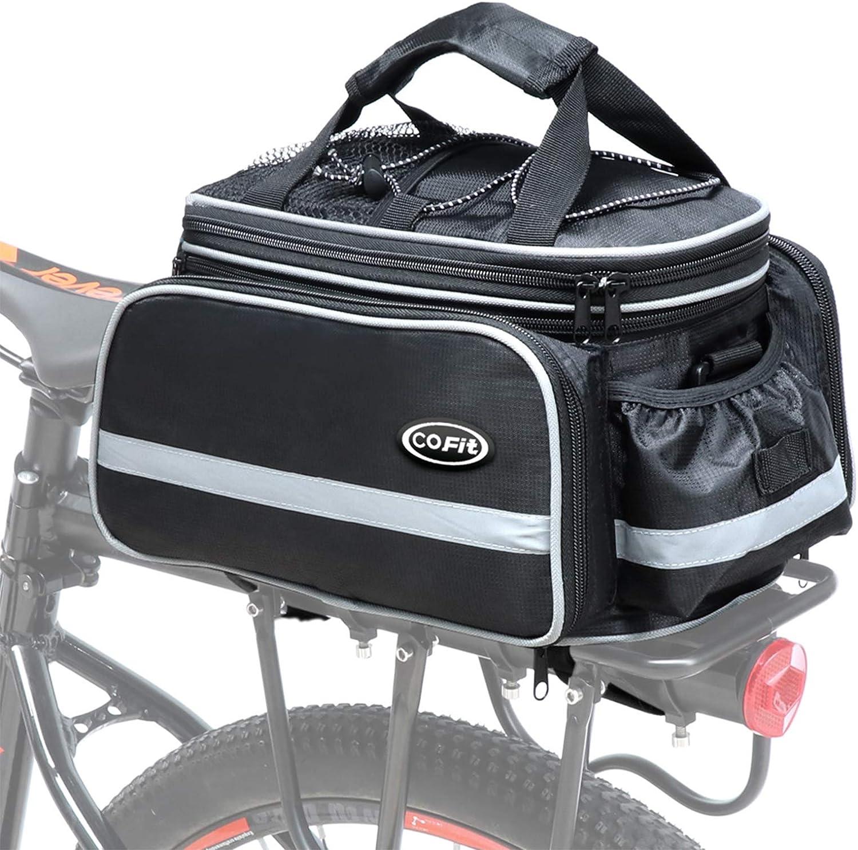 Large de grande capacité Vélo Siège Arrière Sièges comme Cofit Bike Trunk Bag 25 L