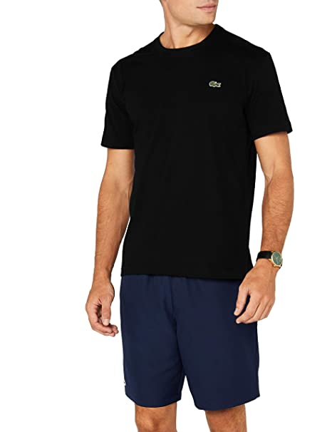 015103764da Lacoste Men s Th7618 Short Sleeve T - Shirt  Amazon.co.uk  Clothing