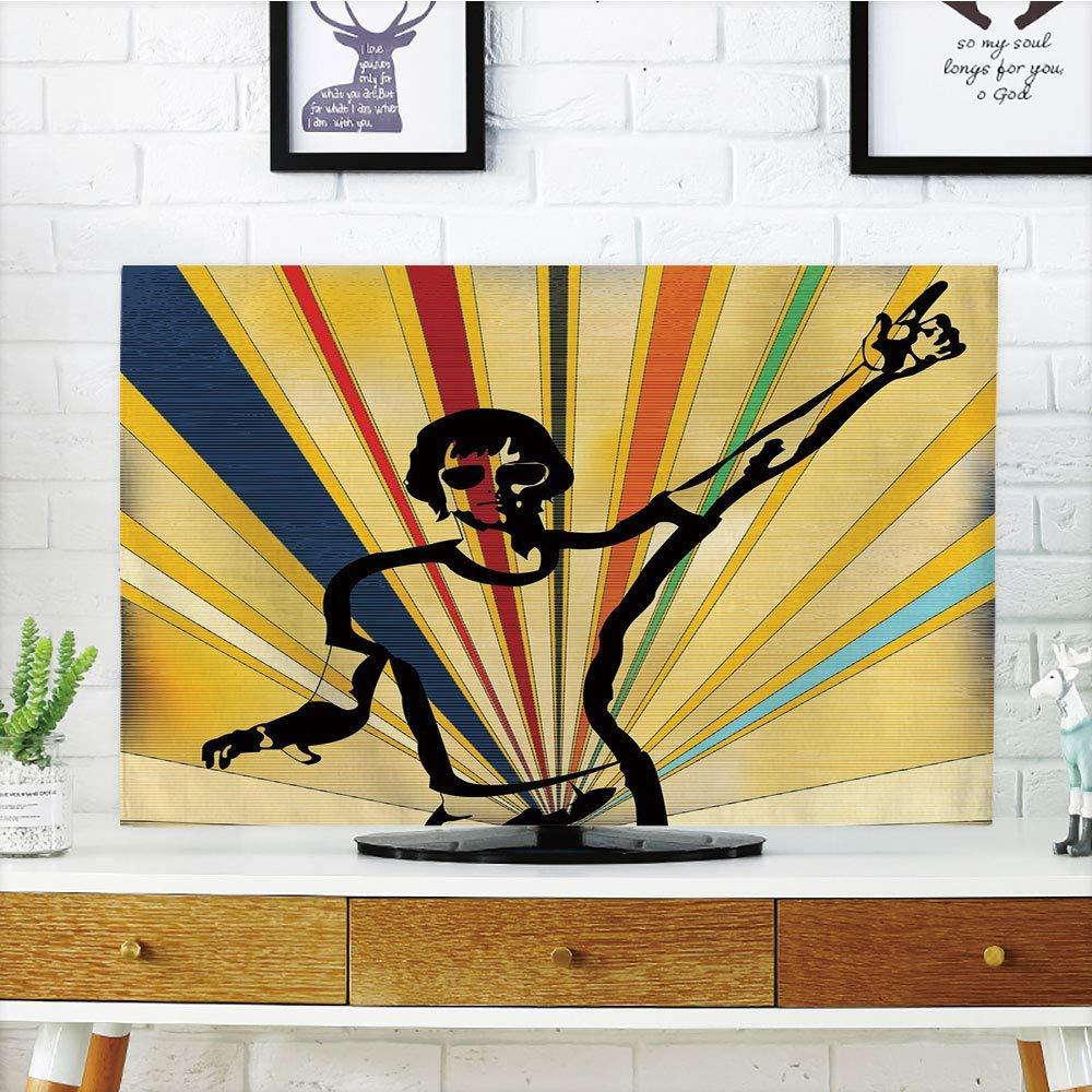Funda para televisor LCD Personalizable con diseño Retro de los ...
