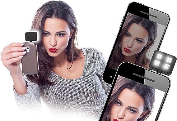 Universal de flash Light para selfie LED de luz adaptador de flash ...