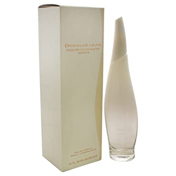 buy popular b086a dc8f0 Donna Karan Liquid Cashmere White Eau de Parfum Spray for Women, 3.4 oz