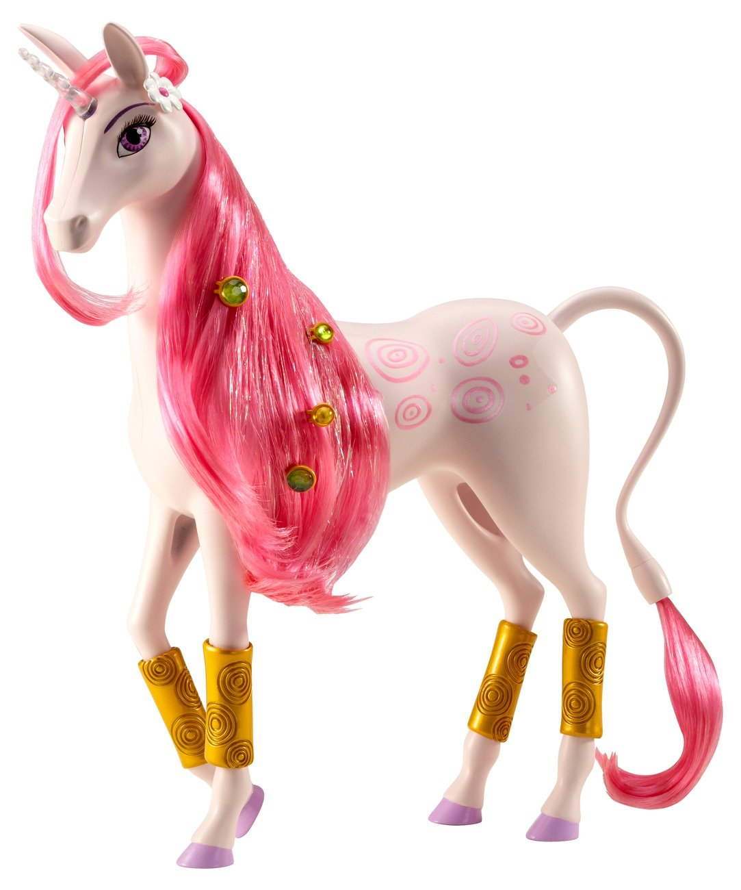 Mattel Mia and Me BFW39 -  Lyria, Einhorn